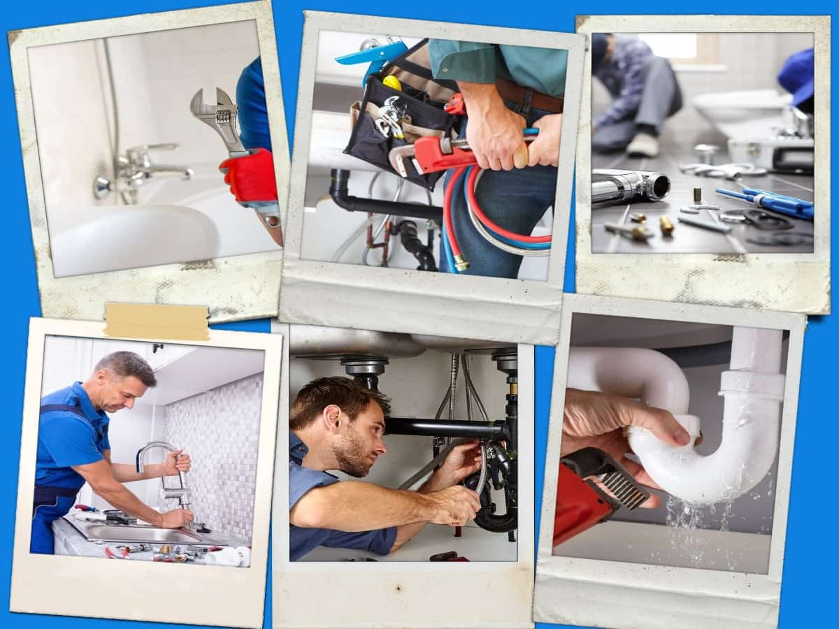 Plumbing Masters collage